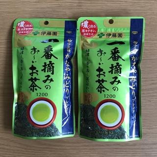 イトウエン(伊藤園)の伊藤園 一番摘みのおーいお茶 1200(茶)