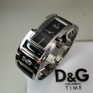 ドルチェアンドガッバーナ(DOLCE&GABBANA)の美品 ドルガバ レディース バングル腕時計 ブレスレット(腕時計)
