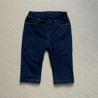 ムジルシリョウヒン(MUJI (無印良品))の【無印良品:美品】7部丈ズボン(パンツ/スパッツ)