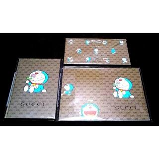 グッチ(Gucci)の送料無料 GUCCI ドラえもん ノート メモパッド 付箋 3点セット グッチ(ノート/メモ帳/ふせん)