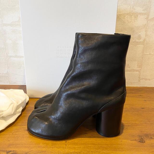 Maison Martin Margiela(マルタンマルジェラ)の新品100%本物Maison Margiela【38】tabiブーツ 足袋 レディースの靴/シューズ(ブーツ)の商品写真