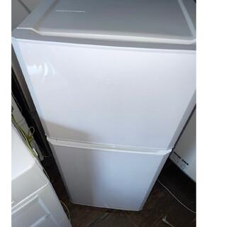 ハイアール(Haier)のハイアール 2ドア冷蔵庫121L 💍2017年製💍 ホワイト(冷蔵庫)