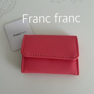 Francfranc - フランフラン キー&カードケース ピンク ②