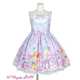 アンジェリックプリティー(Angelic Pretty)のToy Doll Boxジャンパースカート(ひざ丈ワンピース)
