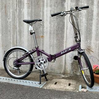 ダホン(DAHON)の【DAHON】折り畳み自転車(9段変速)(自転車本体)