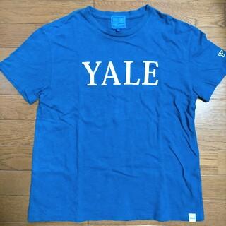 ジェイプレス(J.PRESS)のj.press ジェイプレス Tシャツ  サイズM  ブルー(Tシャツ/カットソー(半袖/袖なし))