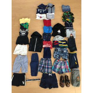 ラルフローレン(Ralph Lauren)のPOLOラルフローレン子供服 サイズ70〜110 ハーフパンツ シャツ Tシャツ(その他)