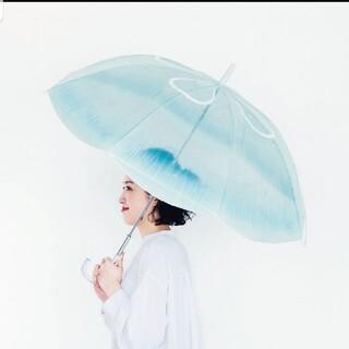 フェリシモ(FELISSIMO)の【新品タグ付】フェリシモ 傘 ミズクラゲ 加茂水族館コラボ(傘)