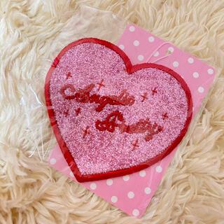 アンジェリックプリティー(Angelic Pretty)のLove Heart ラメクリップ♡ピンク×アカ(バレッタ/ヘアクリップ)