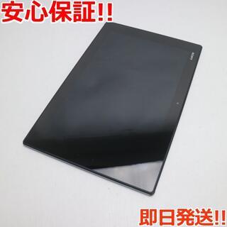 エクスペリア(Xperia)の美品 au SOT21 Xperia(TM) Z2 Tablet ブラック (タブレット)