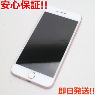 アイフォーン(iPhone)の美品 SIMフリー iPhone6S 128GB ローズゴールド (スマートフォン本体)