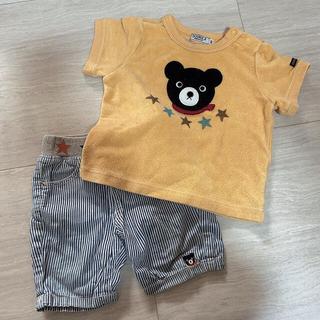 ダブルビー(DOUBLE.B)のダブルビー Tシャツ ズボン 80センチ(Tシャツ)