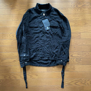 UNDERCOVER - 20AW UNDERCOVER 蜘蛛巣城 縮絨シャツブルゾン