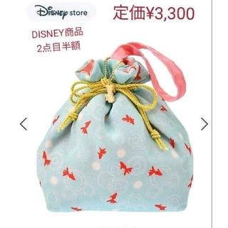 ディズニー(Disney)のDISNEY STORE 新品タグ付 定価¥3,300 ミニー 巾着(その他)
