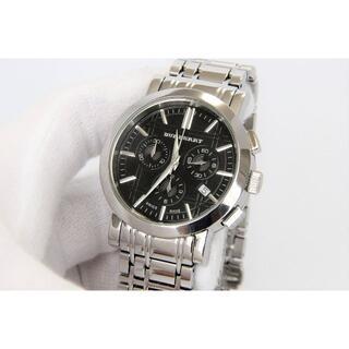 バーバリー(BURBERRY)のバーバリー BURBERRY クロノ 男性用 腕時計 電池新品 s1253(腕時計(アナログ))