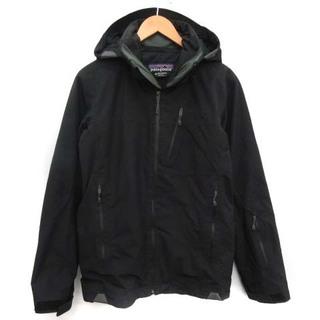 パタゴニア(patagonia)のパタゴニア ジャケット フード ゴアテックス ジップアップ 中綿 XS 黒(その他)