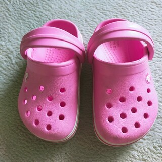 crocs - クロックス サンダル ピンク サイズ14