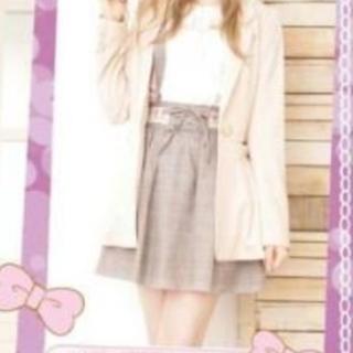 リズリサ(LIZ LISA)のリズメロジャンパースカート(ミニスカート)