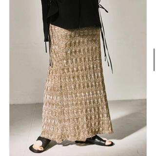 トゥデイフル(TODAYFUL)のトゥデイフル  Lace Pencil Skirt(ロングスカート)