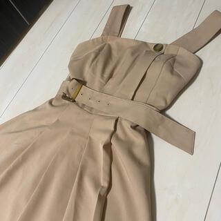 ダズリン(dazzlin)のdazzlin サロペットスカート(ひざ丈スカート)