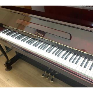【6月セールピアノ④】木目艶出しのコンパクトなデザインアップライトピアノ