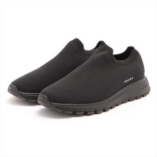 プラダ(PRADA)のプラダ  ニット 8.5 ブラック メンズ その他靴(その他)