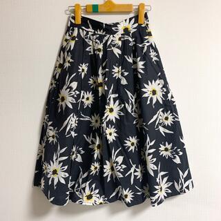 ジーナシス(JEANASIS)のジーナシス 花柄スカート(ひざ丈スカート)