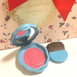 Les Merveilleuses LADUREE - 未使用 プレストチーク N101 LADUREE