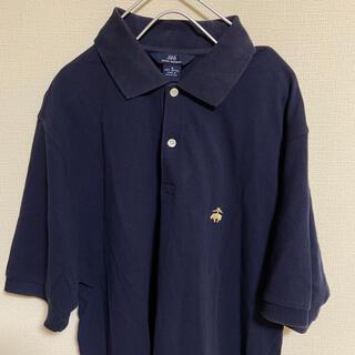 ブルックスブラザース(Brooks Brothers)のブルックスブラザーズ ポロシャツ ネイビー 刺繍 紺 S(ポロシャツ)