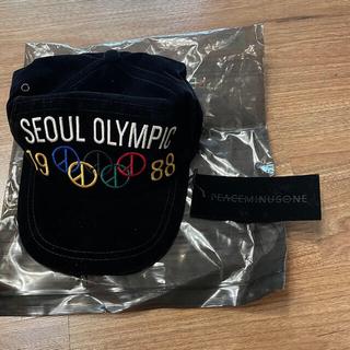 PEACEMINUSONE - PMO SEOUL OLYMPIC SNAP BACK #1 BLACK