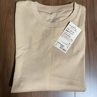 ムジルシリョウヒン(MUJI (無印良品))の無印良品 クルーネック長袖t ベージュ(Tシャツ(長袖/七分))