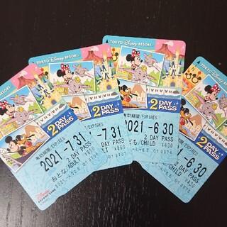 ディズニー(Disney)の新品☆未使用☆ディズニーリゾートライン☆2daypass(鉄道乗車券)