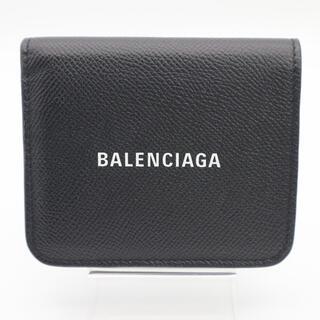 Balenciaga - ★送料無料★ BALENCIAGA 二つ折り財布 コンパクト 送料込 極美品