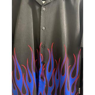 ジョンローレンスサリバン(JOHN LAWRENCE SULLIVAN)のファイヤーシャツ sullen サレン(シャツ)