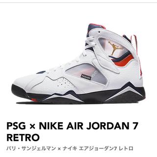 ナイキ(NIKE)のPSG × NIKE AIR JORDAN 7 RETRO(スニーカー)