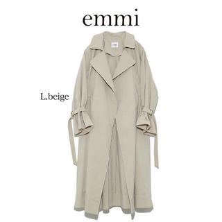 エミアトリエ(emmi atelier)の【emmi atelier】スプリングドロストトレンチコート (トレンチコート)