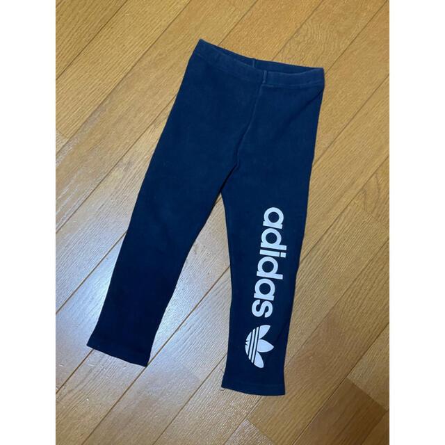 adidas(アディダス)のアディダス レギンス キッズ/ベビー/マタニティのキッズ服女の子用(90cm~)(パンツ/スパッツ)の商品写真
