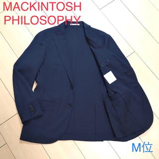 マッキントッシュフィロソフィー(MACKINTOSH PHILOSOPHY)の極美品★マッキントッシュ トロッター 極上ネイビージャケット 紺 アンコンA78(テーラードジャケット)