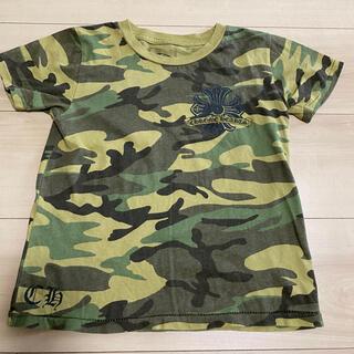 クロムハーツ(Chrome Hearts)のクロムハーツ キッズ 子供 迷彩 4T Tシャツ(Tシャツ/カットソー)