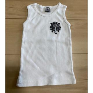 クロムハーツ(Chrome Hearts)のクロムハーツ  タンクトップ 子供 2歳 新品未使用(Tシャツ/カットソー)