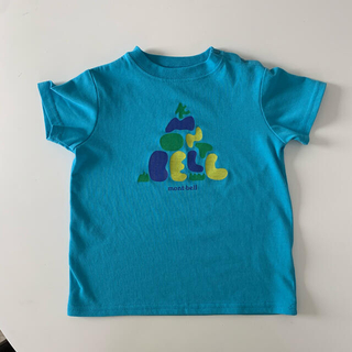 モンベル(mont bell)のmont-bell ライトシアンTシャツ 90㎝ 緑Tシャツ90㎝(Tシャツ/カットソー)