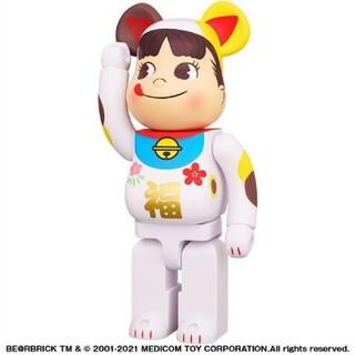 BE@RBRICK ベアブリック 招き猫 ペコちゃん 福 1000%(その他)