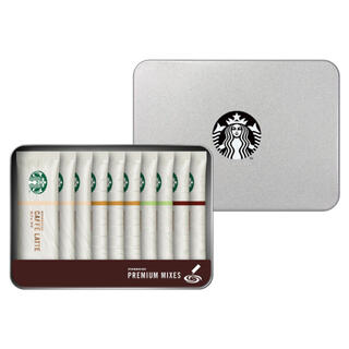 Starbucks Coffee - STARBUCKS スターバックス  プレミアム ミックスギフト缶入り10杯分