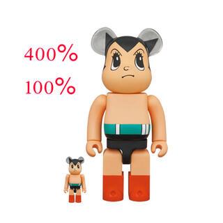メディコムトイ(MEDICOM TOY)のBE@RBRICK 鉄腕アトム Brave Ver. 400% 100%(その他)