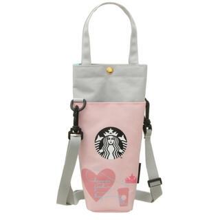 スターバックスコーヒー(Starbucks Coffee)の完売品★スターバックス ショルダーボトルケース  STARBUCKS(ショルダーバッグ)