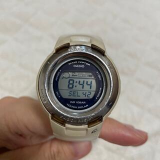 ベビージー(Baby-G)のCASIO カシオ 腕時計 Baby G 白(腕時計)