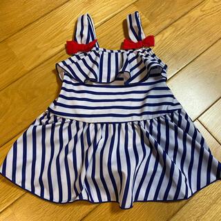 ニシマツヤ(西松屋)の女の子80センチ 水着(水着)