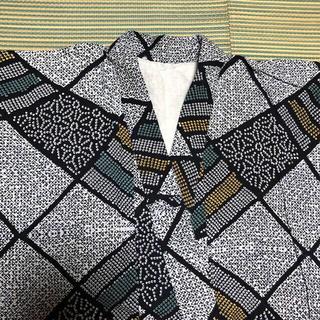 女性用浴衣+紬織り風・帯 セット(浴衣)