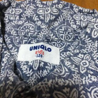 ユニクロ(UNIQLO)のアロハシャツ 120(その他)