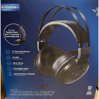 プレイステーション4(PlayStation4)のRAZER THRESHER ULTIMATE(ヘッドフォン/イヤフォン)